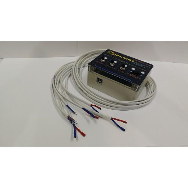 Контроллер полуавтономный гибридный для стенда на 4  форсунки.