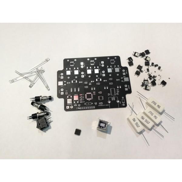 КИТ НАБОР  Контроллер полуавтономный для стенда на 4 форсунки.