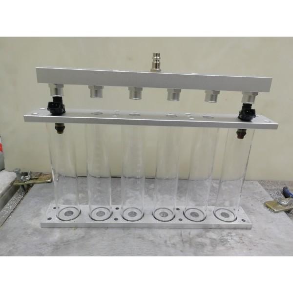 КИТ - 6 Стенда промывки и тестирования форсунок.